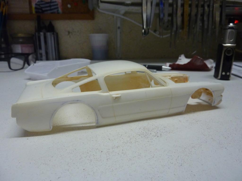 Projet 2eme Mustang gt 350 version racing fictive terminée P1480512