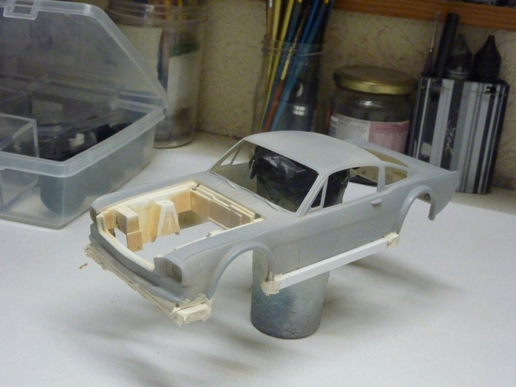 Projet 2eme Mustang gt 350 version racing fictive terminée P1480514