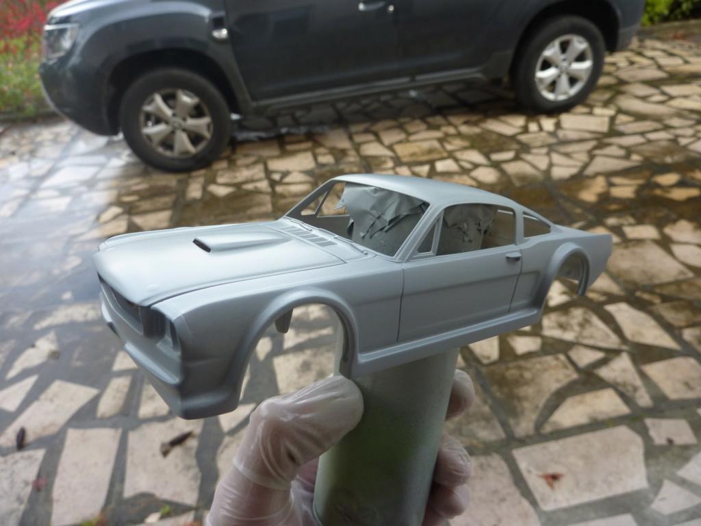 Projet 2eme Mustang gt 350 version racing fictive terminée P1480516