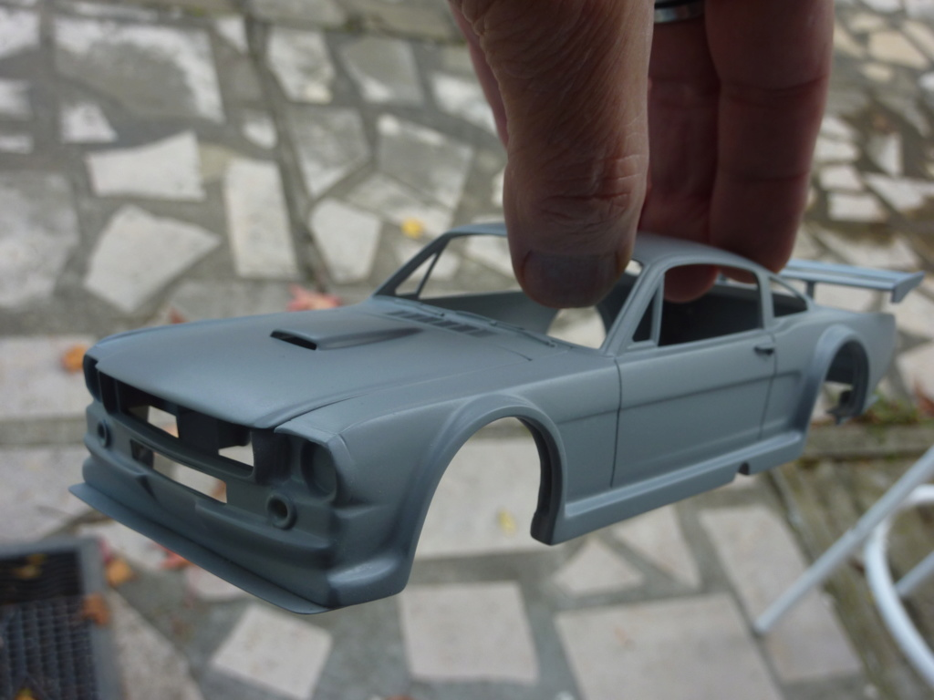 Projet 2eme Mustang gt 350 version racing fictive terminée P1480531