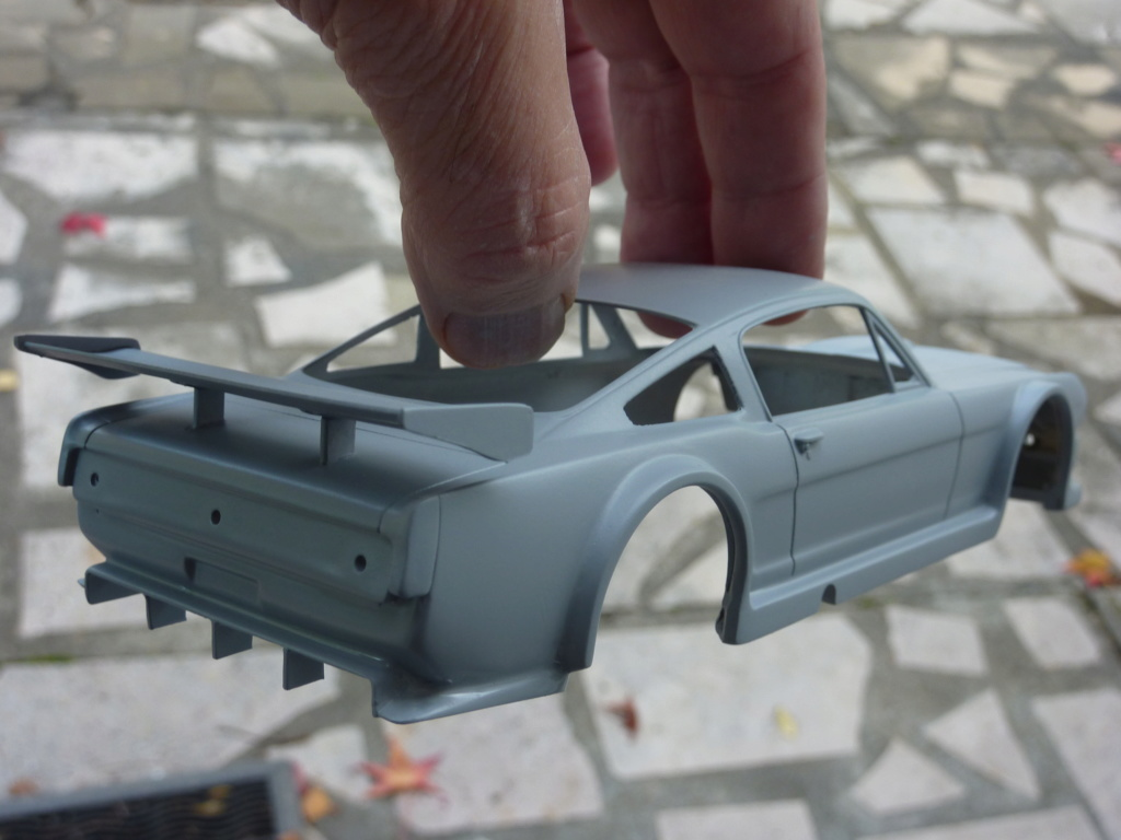 Projet 2eme Mustang gt 350 version racing fictive terminée P1480532