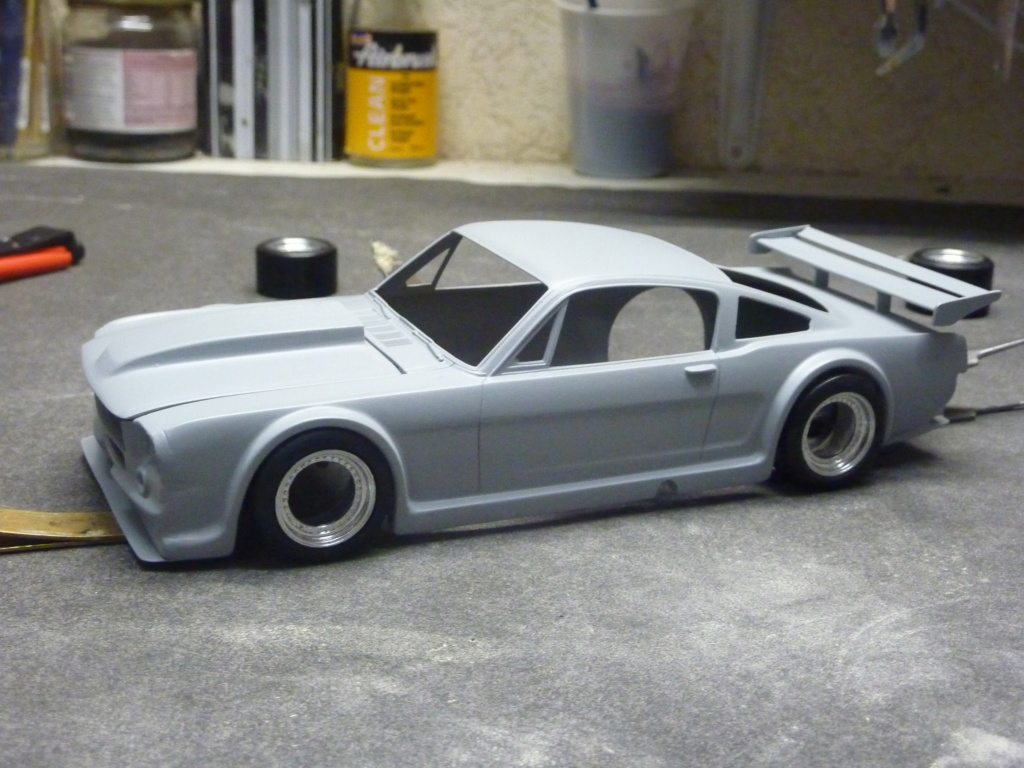 Projet 2eme Mustang gt 350 version racing fictive terminée P1480534