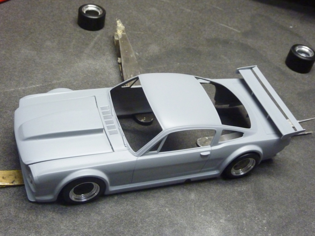 Projet 2eme Mustang gt 350 version racing fictive terminée P1480536