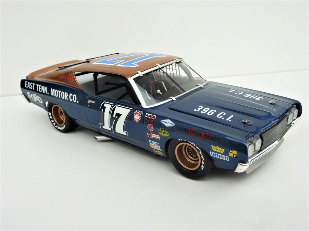 Restauration Ford torino cobra 68 nascar terminée Photo400