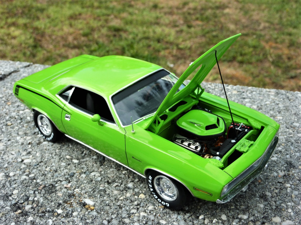 Plymouth Hemi Cuda 70 revell terminée - Page 2 Photo589