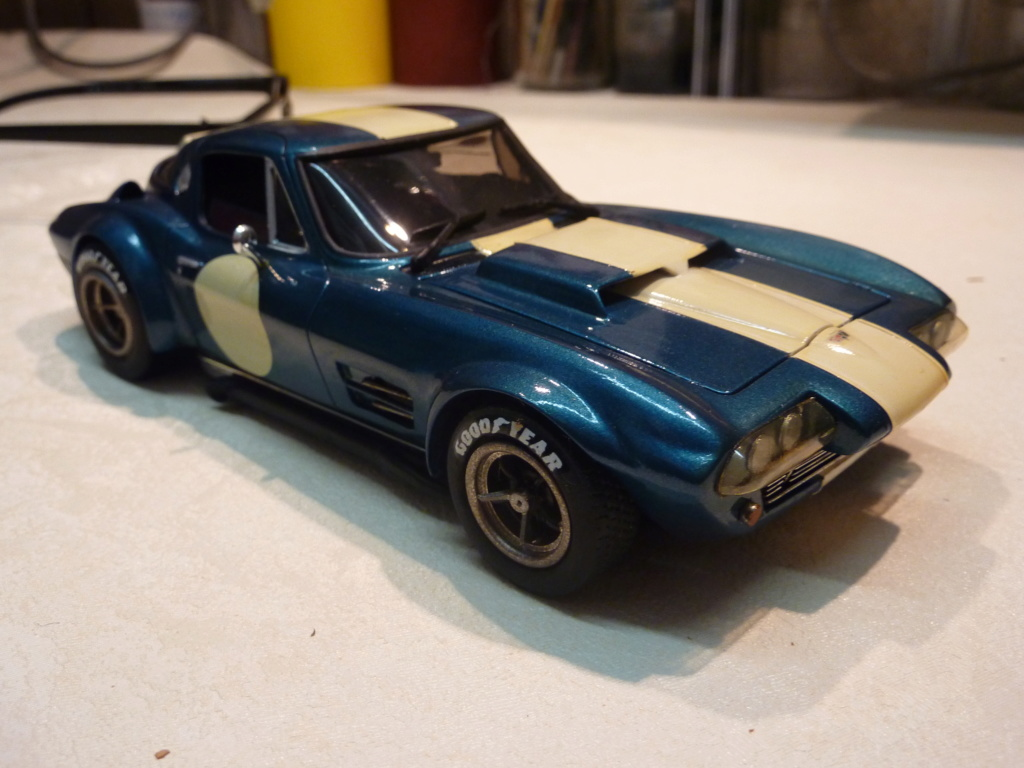 restauration complete Corvette Grand Sport  réplica  Restau22