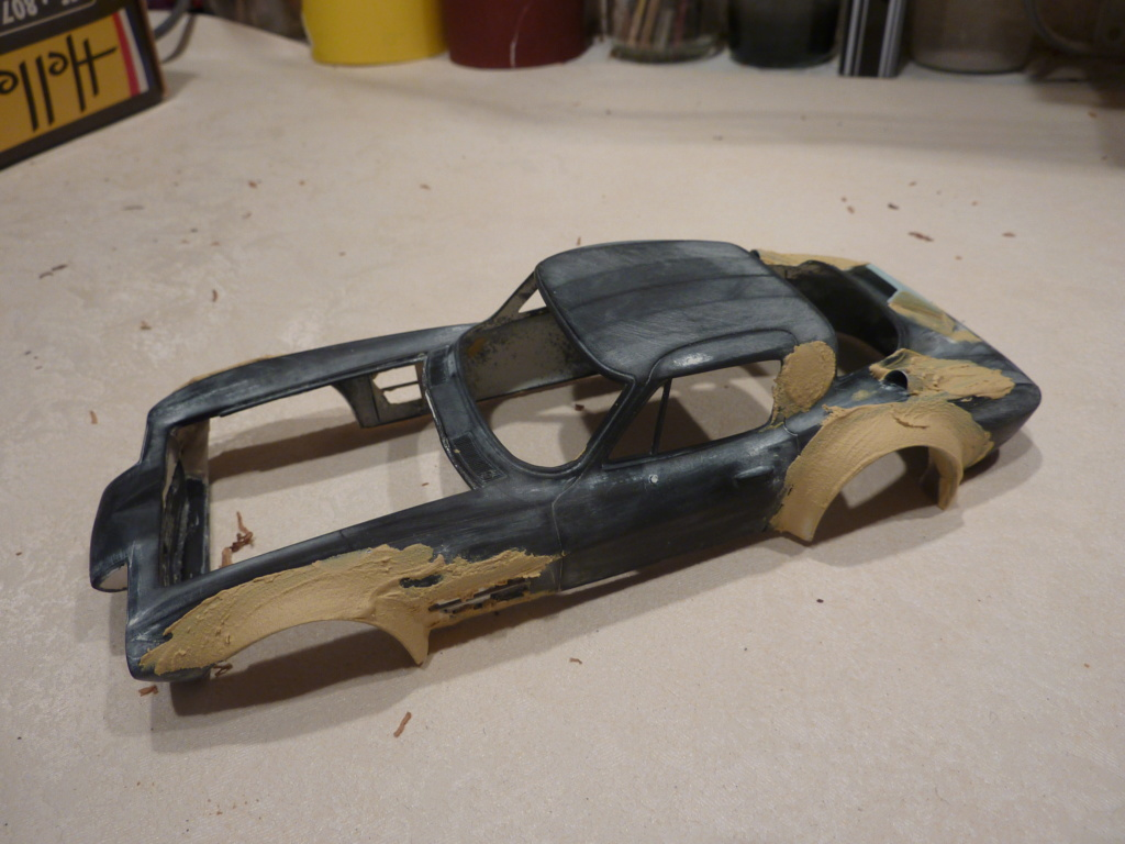 restauration complete Corvette Grand Sport  réplica  Restau24