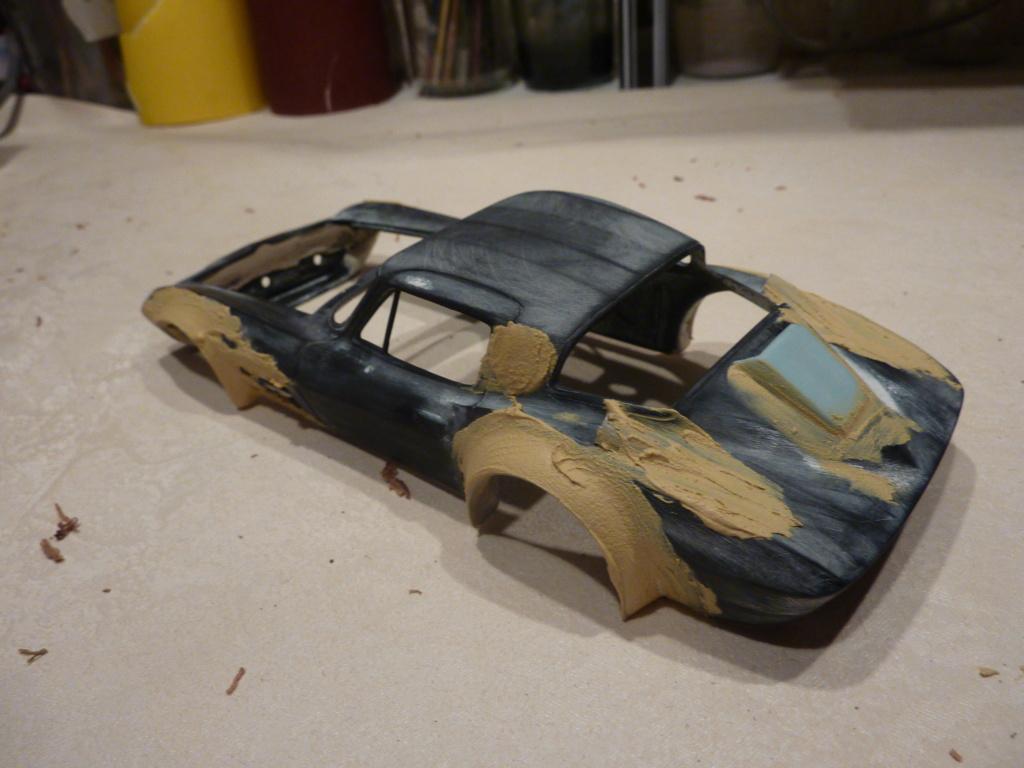 restauration complete Corvette Grand Sport  réplica  Restau25