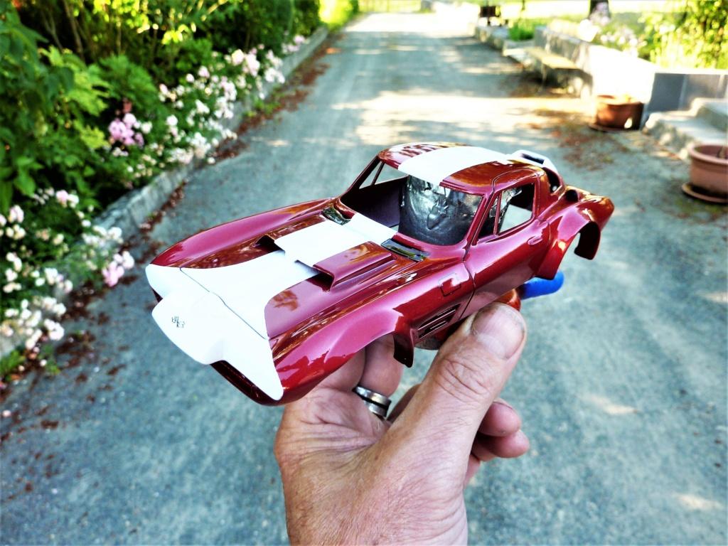 restauration complete Corvette Grand Sport  réplica  Restau28