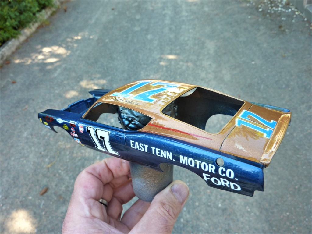 Restauration Ford torino cobra 68 nascar terminée Verni_10