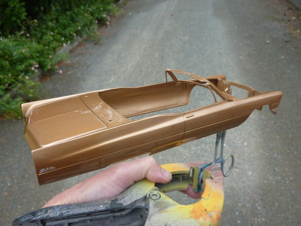 restauration complete Cadillac 68 Johan terminée Vernis61