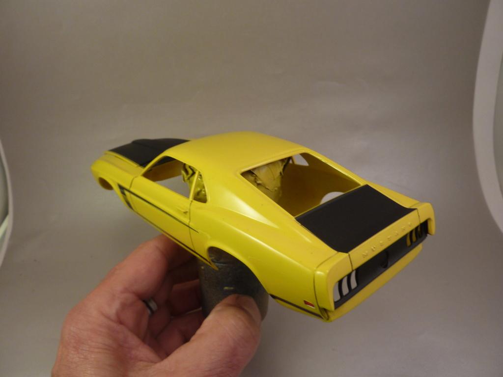 Musta,ng boss 302 1969 terminée Vernis65