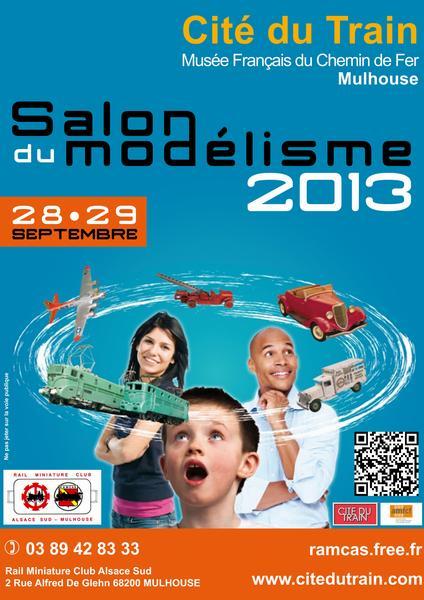 Expo Cité du Train 28 et 29 septembre 2013 Mulhouse (68) Affich12