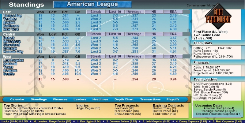 American League Bb2k1411