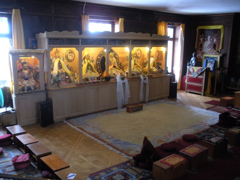 Le monastère Rabten Choeling, Suisse. 19910