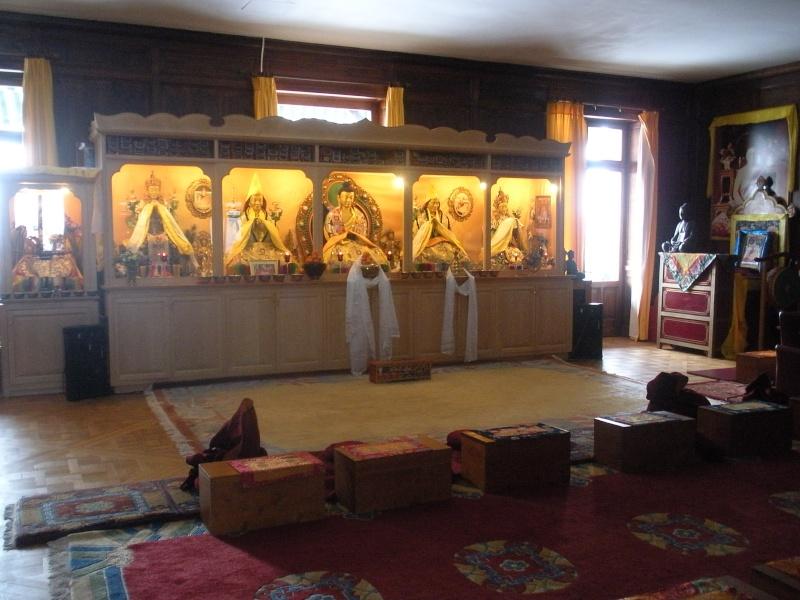 Le monastère Rabten Choeling, Suisse. 21410