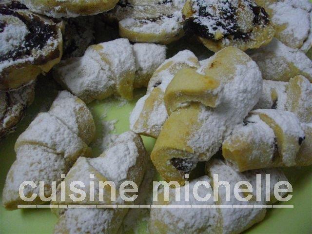 CROISSANT AU CHOCOLAT A LA PATE BRISEE A MICHELLE Imgp1215