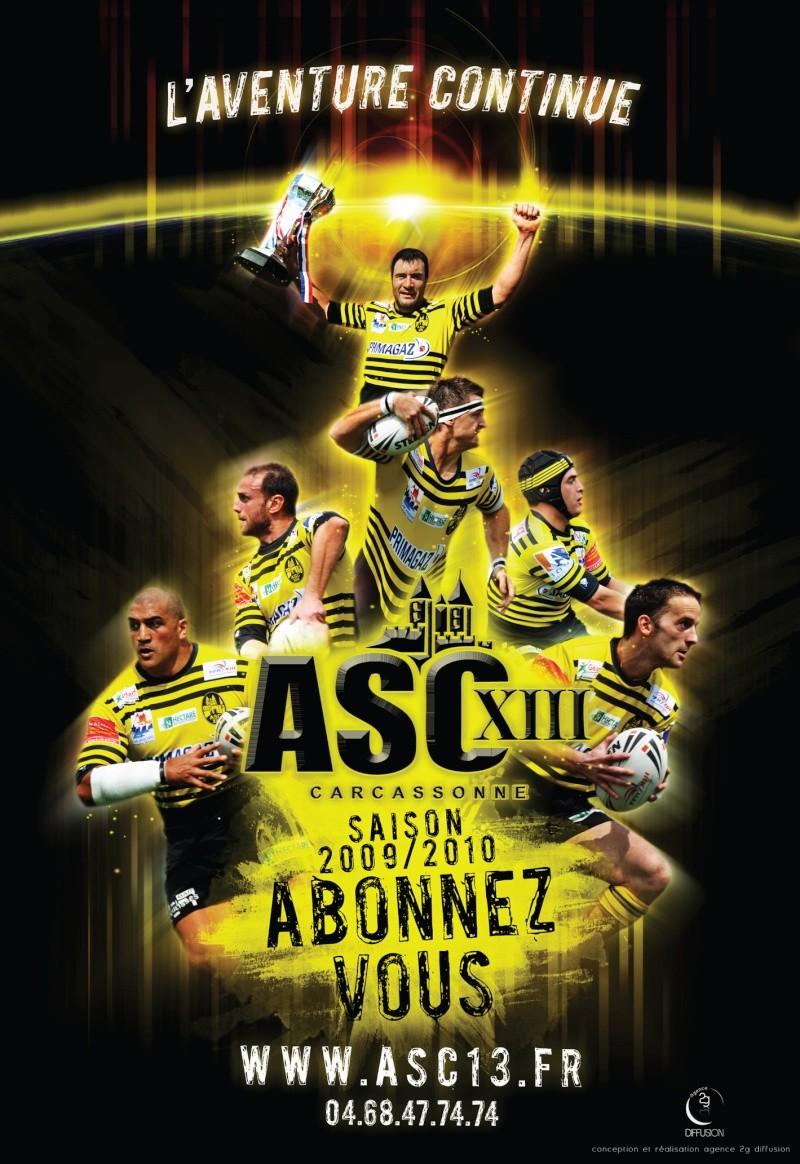 Affiche abonnement saison 2009/2010. Affich11