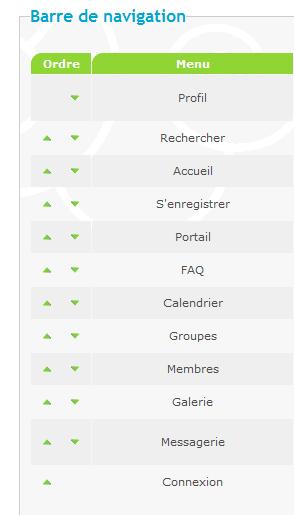 [PHPBB2] Menu déroulant et Profil Rechercher et Nouveau M.P séparé 1010