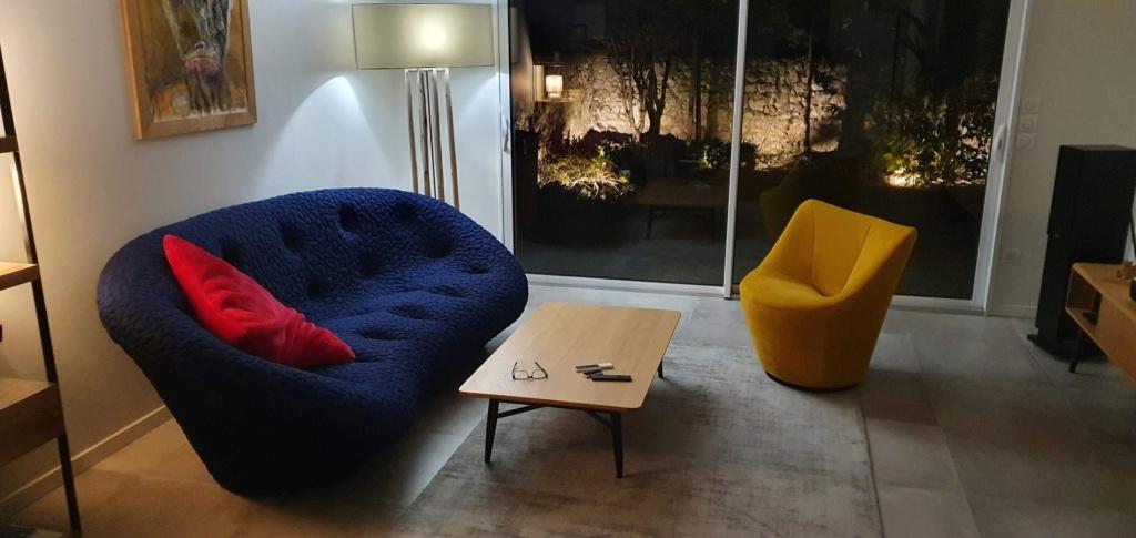 Nouveau canapé: aide choix tapis, coussins, abat jour Salon110