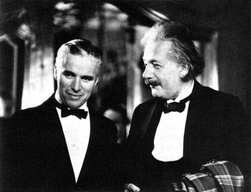 Chaplin et Einstein Tumblr10