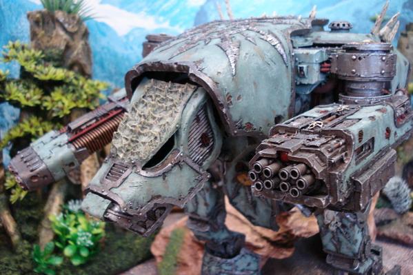 Titan Warhound de Nurgle Dsc01010