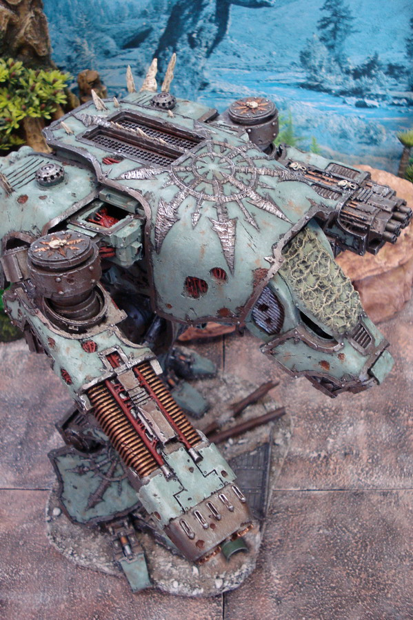 Titan Warhound de Nurgle Dsc01210