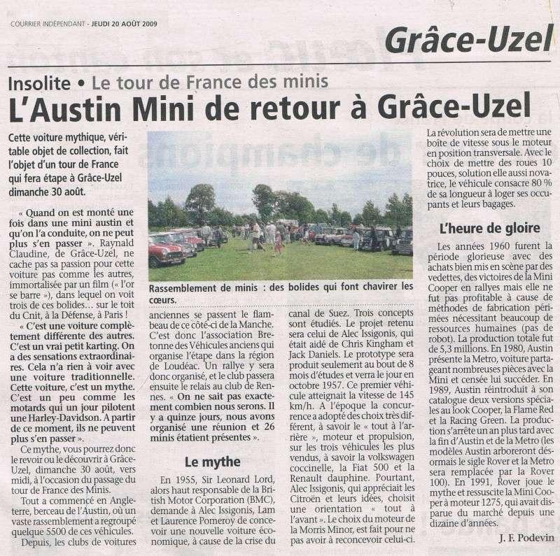 TOUR DE FRANCE DES MINI - 3 ème Etape - 30 Août 2009 Articl11