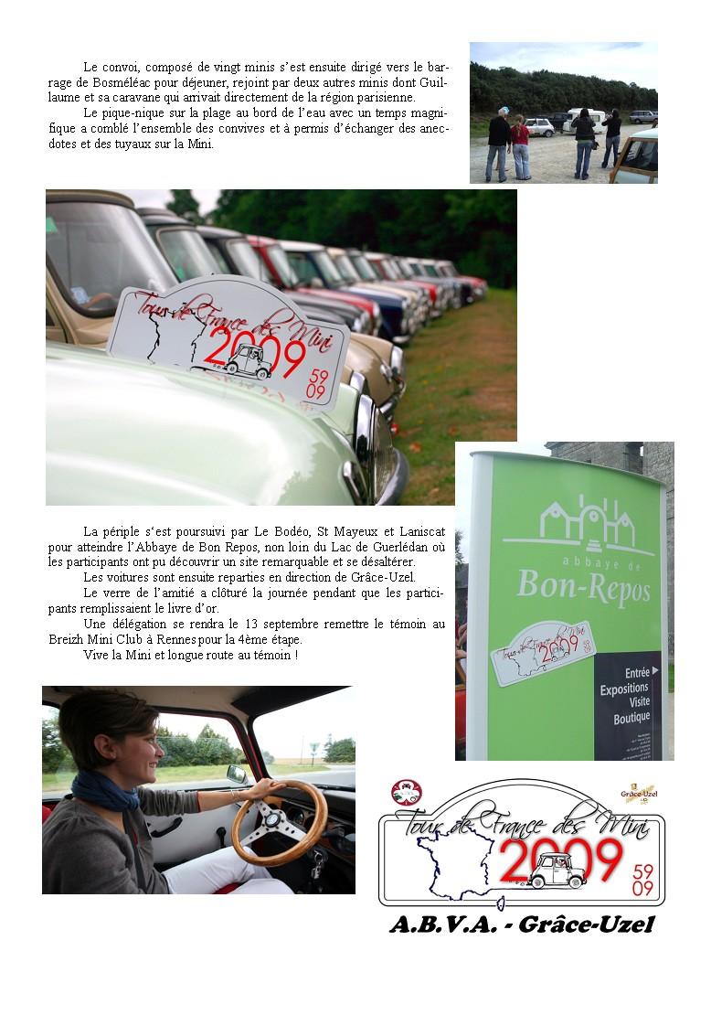 TOUR DE FRANCE DES MINI - 3 ème Etape - 30 Août 2009 Page_210