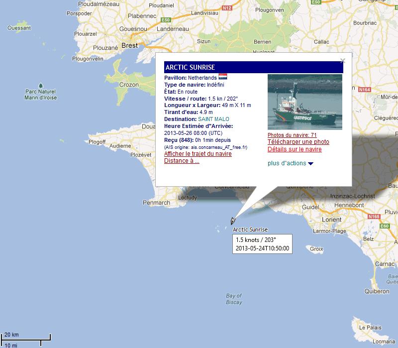 escale à Bayonne d'un navire de green peace 24_05_15
