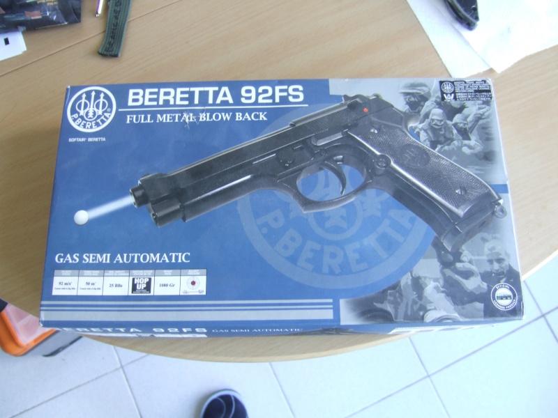 Beretta  92fs kjw full metal blowback Dscf5510