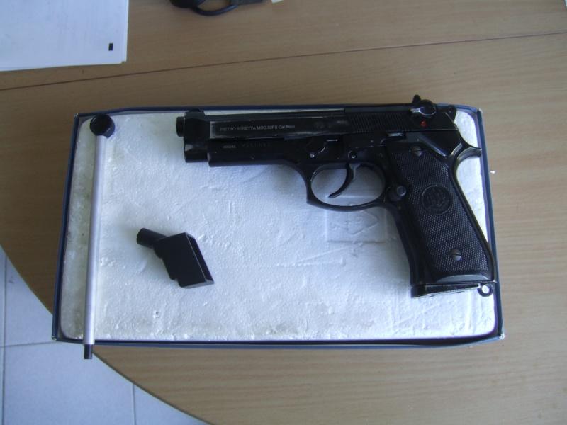 Beretta  92fs kjw full metal blowback Dscf5512