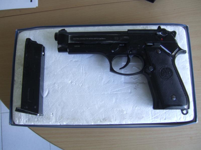 Beretta  92fs kjw full metal blowback Dscf5513