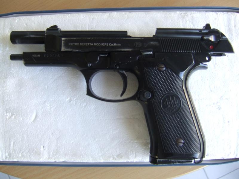 Beretta  92fs kjw full metal blowback Dscf5514