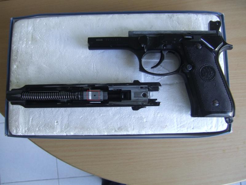 Beretta  92fs kjw full metal blowback Hopup210