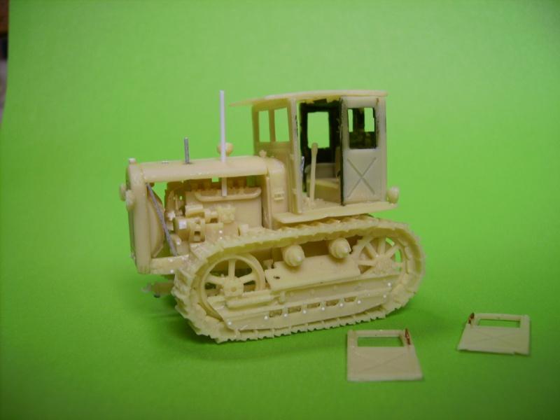 tracteur stalinetz et obusier de 152, 1/72° Pict5514