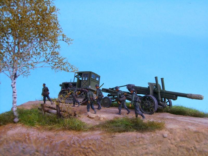 tracteur stalinetz et obusier de 152, 1/72° Pict5521