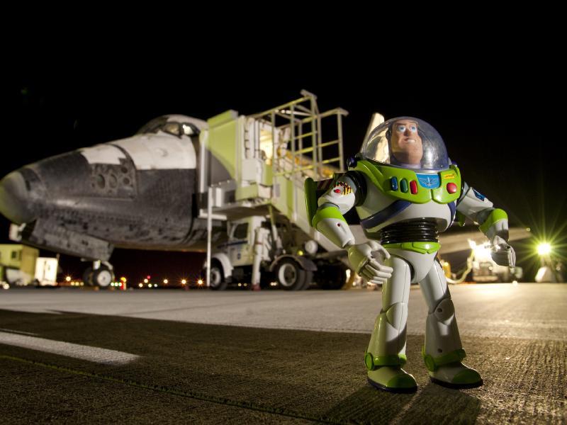 Buzz l'éclair est l'astronaute qui a passé le plus de temps dans l'espace ! 38714310