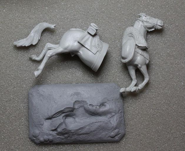Chute de cheval. Chute-19