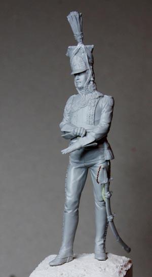 Général Edouard de Colbert, colonel des lanciers rouges (Ateliers Maket) Img_8211