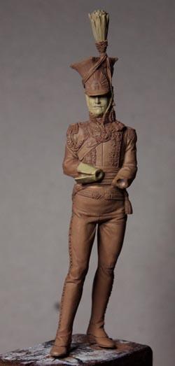 Général Edouard de Colbert, colonel des lanciers rouges (Ateliers Maket) Img_8212