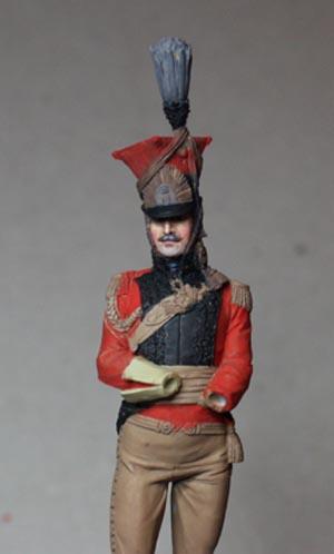 Général Edouard de Colbert, colonel des lanciers rouges (Ateliers Maket) Img_8310