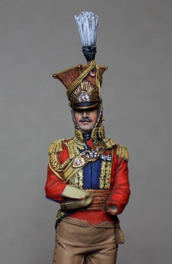Général Edouard de Colbert, colonel des lanciers rouges (Ateliers Maket) Img_8311