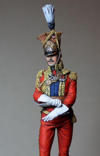 Général Edouard de Colbert, colonel des lanciers rouges (Ateliers Maket) Img_8313