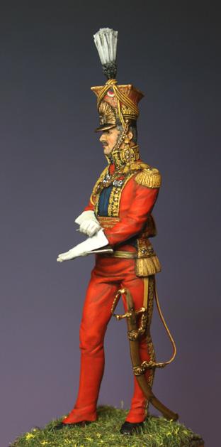 Général Edouard de Colbert, colonel des lanciers rouges (Ateliers Maket) Img_8410