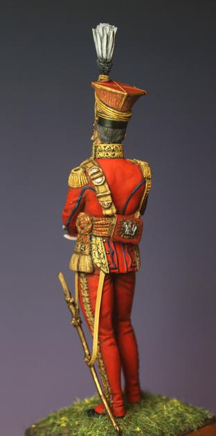 Général Edouard de Colbert, colonel des lanciers rouges (Ateliers Maket) Img_8411