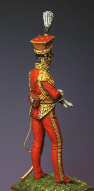 Général Edouard de Colbert, colonel des lanciers rouges (Ateliers Maket) Img_8412