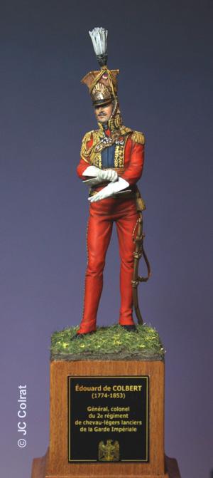 Général Edouard de Colbert, colonel des lanciers rouges (Ateliers Maket) Img_8413