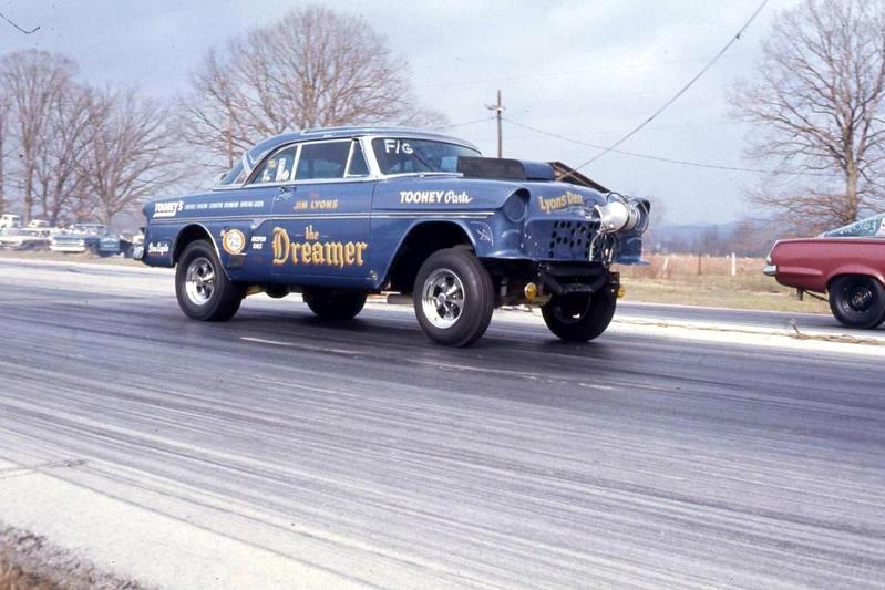 1950's Ford Gasser  29390310