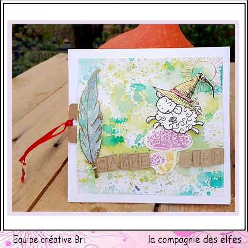 25 novembre Sabine carte avec chapeau ... Carte_35